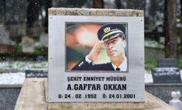 Şehit Emniyet Müdürü Gaffar Okkan, kabri başında anılacak