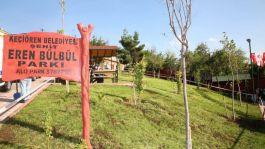 Şehit Eren Bülbül Parkı'nın açılışını gerçekleştirdi