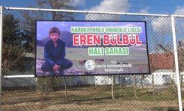 Şehit Eren Bülbül'ün ismi Erciş'te yaşatılacak