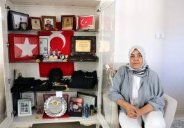 Şehit eşi: