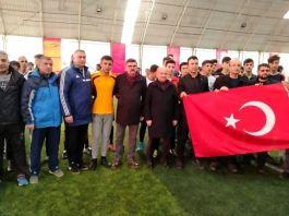Şehit Fethi Sekin anısına halı saha turnuvası
