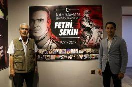 Şehit Fethi Sekin için memleketinde müze kuruldu