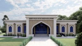 Şehit Fethi Sekin Külliyesi yapımına devam ediliyor