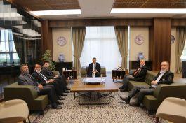 Şehit, Gazi Genel Başkanı Valiyi Makamında ziyaret etti