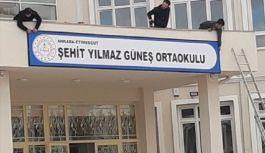 Şehit ismi Ankara'da bir okula verildi