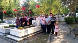 Şehit Jandarma Er 5.yılında  kabri başında anıldı