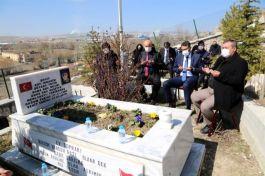 Şehit Jandarma Uzman Çavuş İbrahim Tetik dualarla anıldı