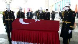 Şehit Jandarma Uzman Çavuş Ankara'da son yolculuğuna uğurlandı