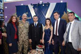 Şehit kızına nişan töreni yapıldı