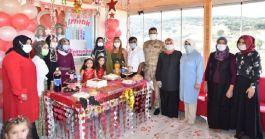 Şehit kızına sürpriz doğum günü yapıldı(Video)