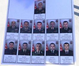 Şehit komutan ve Şehit Askerleri anısına hatıra ormanı