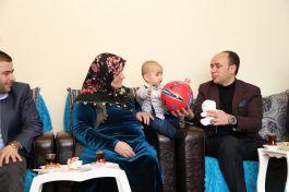 Şehit Korucu Ailelerine Kaymakam'dan Ziyaret