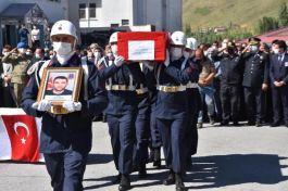 Şehit Korucu Bitlis'te törenle defnedildi