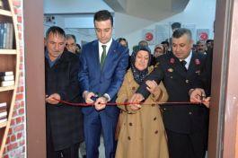 Şehit Mehmet Kürşad Yılmaz adına kütüphane açıldı