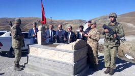 Şehit mezarı tekrardan yapıldı