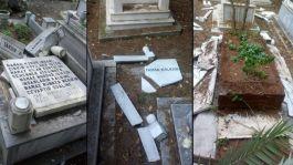 Şehit Mezarlarına zarar verdi, Morallim bozuktu savunması yaptı