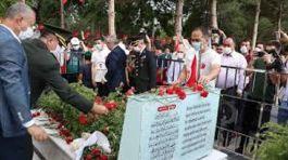 Şehit Ömer Halisdemir mezarı başında anıldı