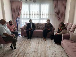 Şehit Özel Hareket Polisinin Ailesine Vali'den ziyaret