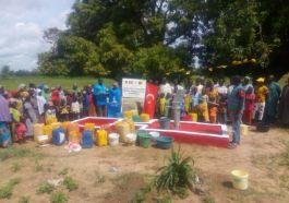 Şehit Polis Adına Afrika'da su kuyusu açıldı