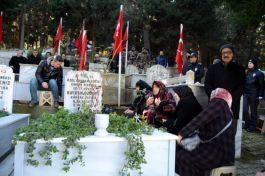 Şehit Polis Bayram Özdere dualarla anıldı