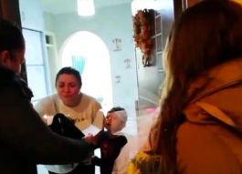 Şehit Polis eşine doğum günü sürprizi