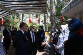 Şehit polis için Kayseri'de anma programı yapıldı