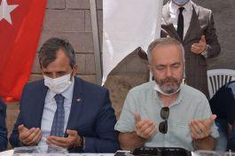 Şehit Polis için Kırıkkale'de mevlit okutuldu