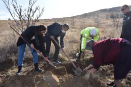 Şehit Polis için Şehit Hatıra ormanı oluşturuldu