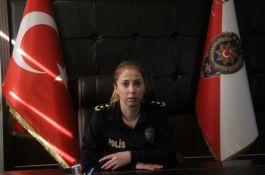 Şehit Polis kızı ilçe Emniyet müdürü oldu