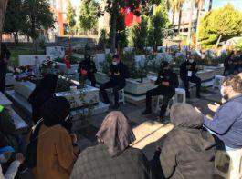 Şehit polis memuru mezarı başında anıldı