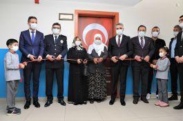 Şehit Polis memurunun adı kütüphaneye verildi