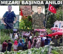 Şehit Polis mezarı başında törenle anıldı