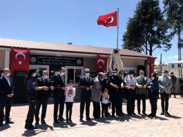 Şehit Polisin adı devriye ekipler binasına verildi