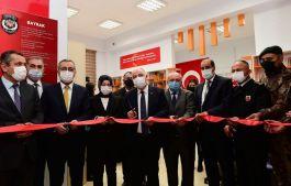 Şehit polisin adı verilen kütüphanenin açılışı yapıldı