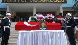 Şehit polisin cenazesi törenle memleketine uğurlandı