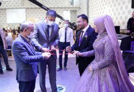 Şehit Polisin oğlu evlilik yolunda ilk adımı attı