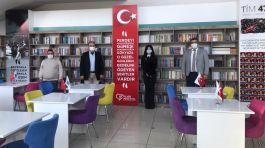 Şehit Polisler İçin kütüphane oluşturuldu