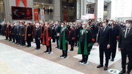 Şehit Savcı Kiraz İstanbul Adalet Sarayı'nda anıldı