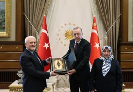 Şehit Savcı'nın Ailesi tören için Cumhurbaşkanını ziyaret etti