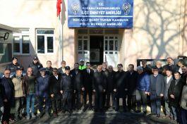 Şehit Tufan Kansuva'nın adı İlçe Polis Amirliği'ne verildi