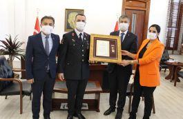 Şehit ve gazi ailelerine Devlet Övünç Madalyası tevcih töreni yapıldı