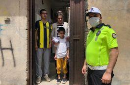 Şehit ve Gazi çocuklarına bayram hediyesi dağıtıldı