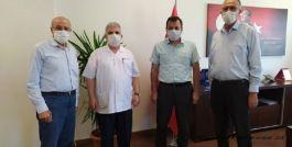 Şehit ve Gazi Derneğinden Başhekime Ziyaret