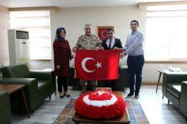 Şehit yakınları Jandarma Komutanı ile bir araya geldi