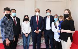 Şehit yakınları ve Gaziler ziyaret edildi