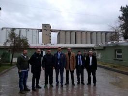 Şehit yakınlarından sınır karakoluna ziyaret