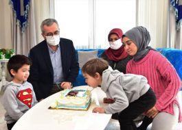 Şehit Yetimine doğum günü kutlaması sürprizi yapıldı(Video)