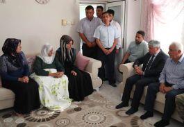 Şehit Yılmaz'ın Ailesine Taziye Ziyareti