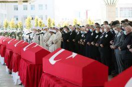 Şehitler Ankara'dan Devlet töreni ile Memleketlerine uğurlandı
