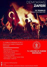 Şehitler ve Gaziler Türkülerle konser düzenlenerek anılacakmış